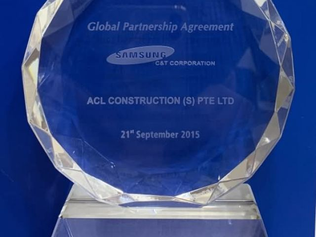 2015 Global Partnership Agreement Acl Construction