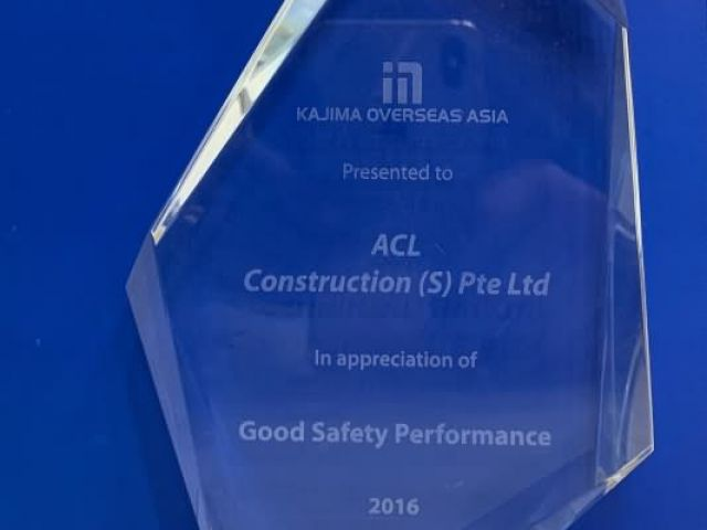 2016 Good Safety Performance Acl Construction