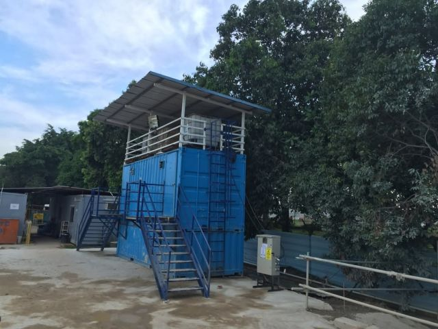 Container Toilet Holding Tank 7 Acl Construction