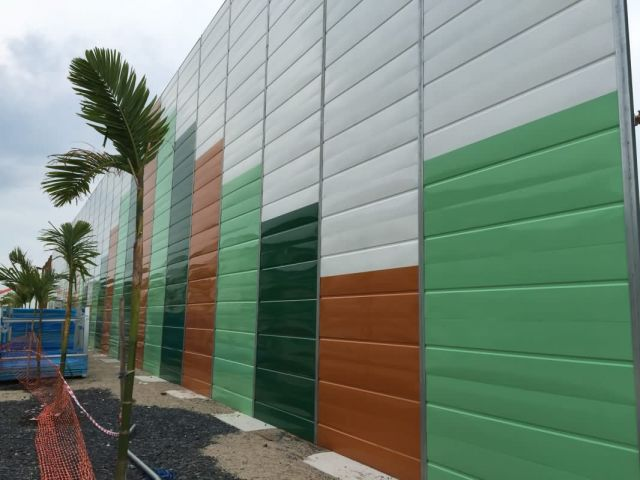 Hoarding, Fencing & Visual Barrier